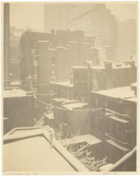 From the Back-Window, - '291', 1915